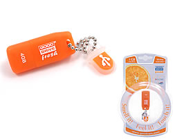 usb flash gooddrive fresh 4gb апельсин