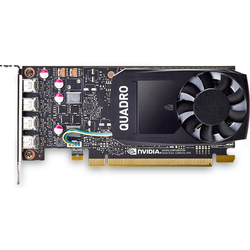 HP Quadro P1000 1265Mhz PCI-E 3.0 4096Mb 5010Mhz 128 bit mini DisplayPort (1ME01AA) RTL