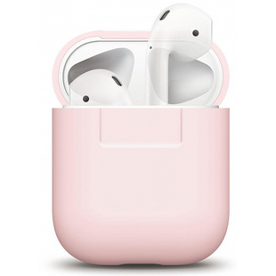 Чехол для Apple AirPods (Elago Silicone Case EAPSC-PK) (розовый)