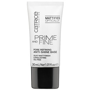CATRICE основа выравнивающая Prime And Fine Pore Refining Anti-Shine 30 мл