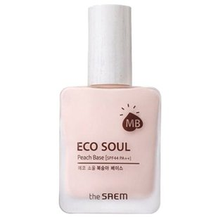 The Saem база под макияж Eco Soul Peach Base 25 мл