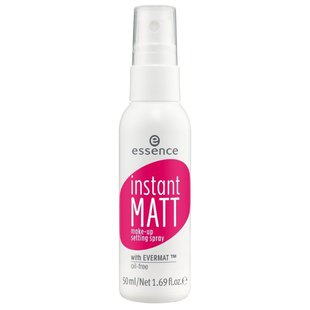 Essence спрей для фиксации макияжа Instant Matt Make-up Setting Spray 50 мл
