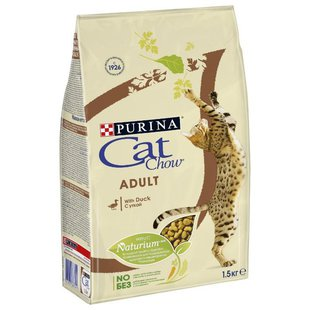 Корм для кошек CAT CHOW Adult с уткой