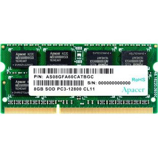Apacer DDR3 1600 SO-DIMM 8Gb (AS08GFA60CATBGC)