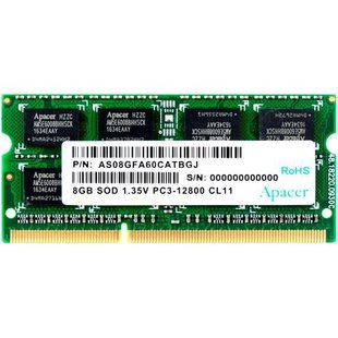 Apacer DDR3L 1600 SO-DIMM 8Gb (AS08GFA60CATBGJ)