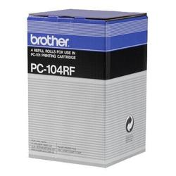 Термопленка для Brother FAX-1150, FAX-1200P, FAX-1250, FAX-1350, FAX-1450, FAX-1550, FAX-1750, FAX-1850, FAX-1950 (PC-104RF) (4 шт)
