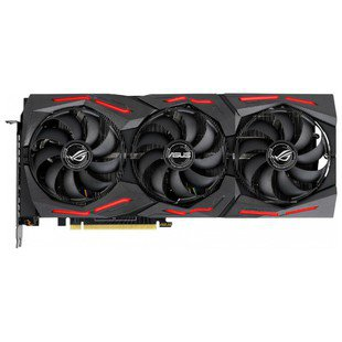 ASUS GeForce RTX 2070 SUPER 1605MHz PCI-E 3.0 8192MB 14000MHz 256 bit 2xHDMI HDCP Strix Gaming (ROG-STRIX-RTX2070S-8G-GAMING) RTL